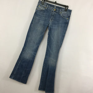 7FAMK 7 For All Mankind 29 Jeans Flare A Pocket
